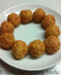 salmon--ball