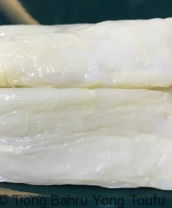 beancurd skin with fish paste