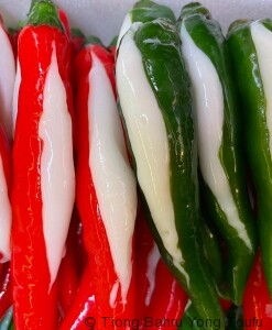 chilli (green red)