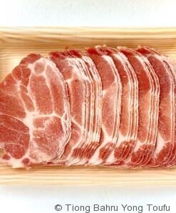 pork collar meat M01