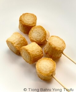 lok lok fried surimi scallop