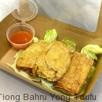cooked fried tauki roll